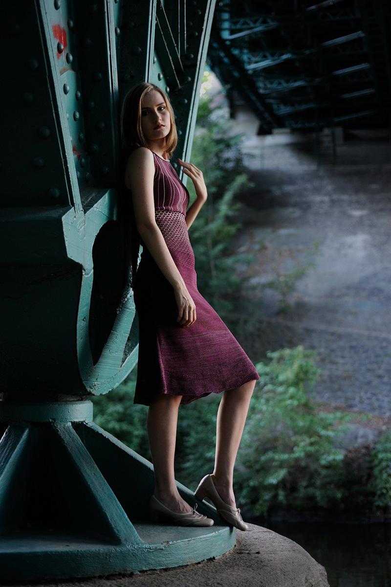 Mauve_knitted_dress