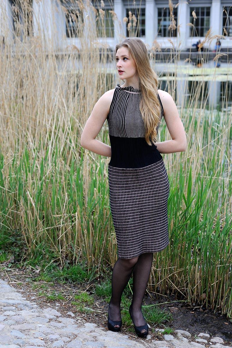 Sommerkleid Strick